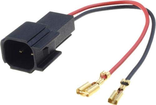 2 Cables adaptateurs haut-parleur compatible avec Opel Astra Insignia