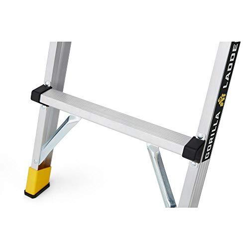 Gorilla Ladders GLWP-47(2-Pack) 47.25 in. x 12 in. x 20 in. Aluminum Slim-Fold Work Platform, 300 lbs. Load Capacity (2-Pack)