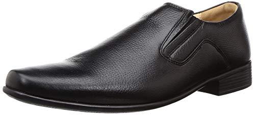 BATA Men Gibson Black Leather Formal Shoes-7 UK (8546643)