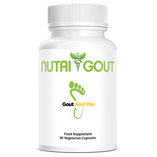 NutriGout - Uric Acid Support Formula with 6 Key Ingredients - 500 mg 90 Vegetarian Capsules