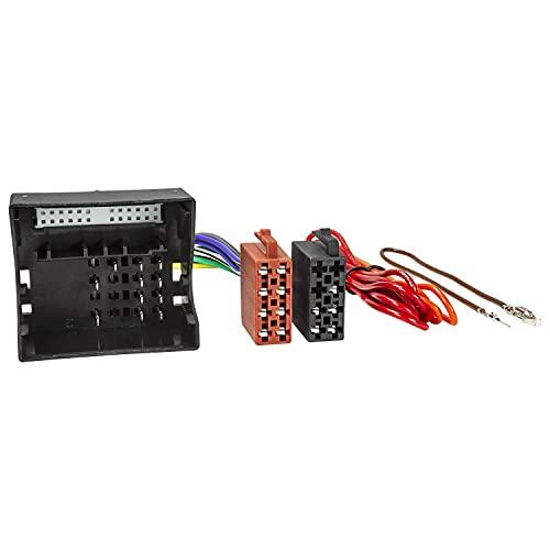 Tomzz Audio 7034-003 Câble adaptateur radio compatible avec Mercedes à partir de 2004 Quadlock (avec radio d'origine 20/30) vers norme ISO 16 broches