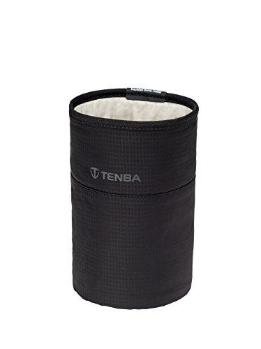 19 cm Black Negro Tenba Tools Insulated Water Bottle Pouch Organizador de Bolso