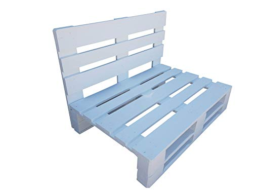 Dydaya Home Sofa de palets - Sillones de palets para Interior, Exterior, Salon, Jardin, Terraza, Patio (120 cm Ancho x 80 cm Profundidad (estándar))