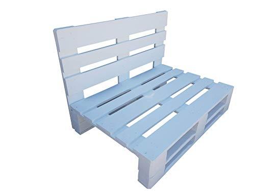 Dydaya Home Sofa de palets - Sillones de palets para Interior, Exterior, Salon, Jardin, Terraza, Patio (110 cm Ancho x 70 cm Profundidad)