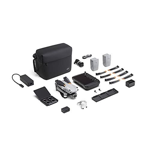 DJI Air 2S Fly More Combo con Smart Controller - Dron con cámara 4K, vídeo 5.4K, sensor CMOS de 1 pulgada, detección de obstáculos en 4 direcciones, tiempo de vuelo de 31minutos, transmisión de vídeo
