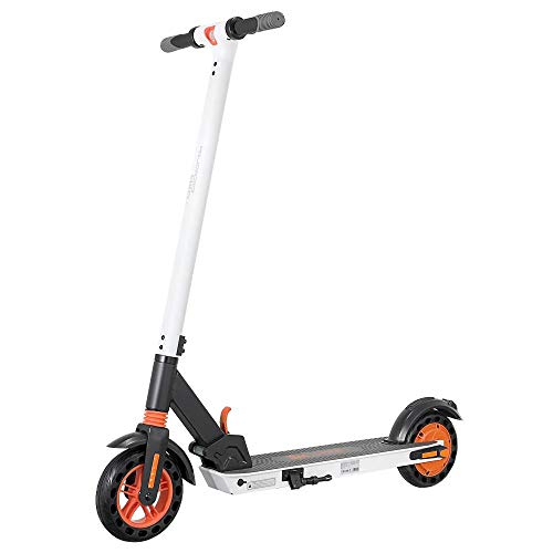 Kugoo E- Scooter Kirin S1 350W Brushless Motor App Control Patinete electrico Adulto - Scooter Electric (Blanco)