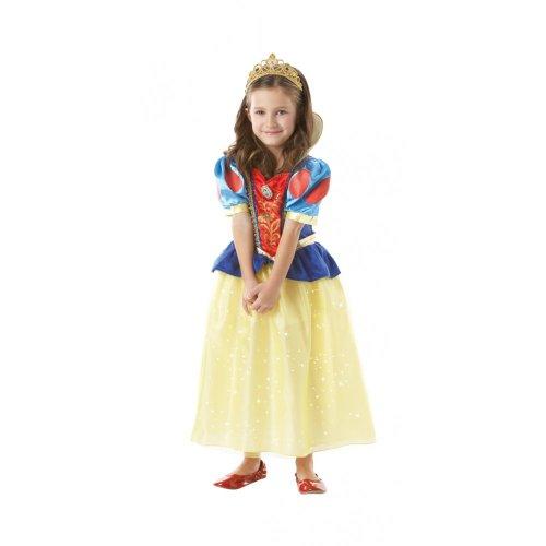 Rubie's-déguisement officiel - Disney- Déguisement Costume Sparkling Blanche-Neige - Taille S- I-884651S
