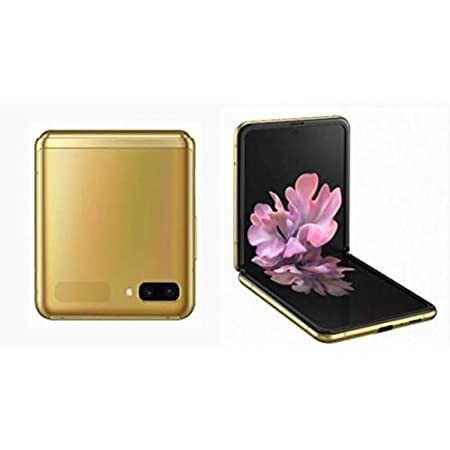 Samsung Galaxy Z Flip F700F-DS 256GB 8GB RAM International Version - Mirror Gold
