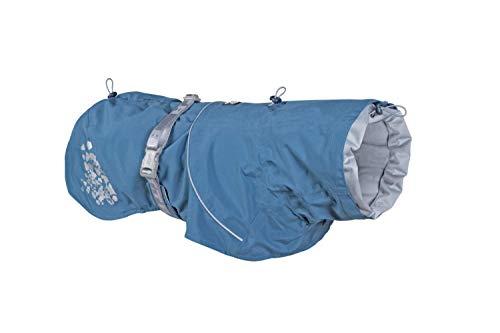 Hurtta Monsoon Abrigo Impermeable para Perro, arándano, 25,