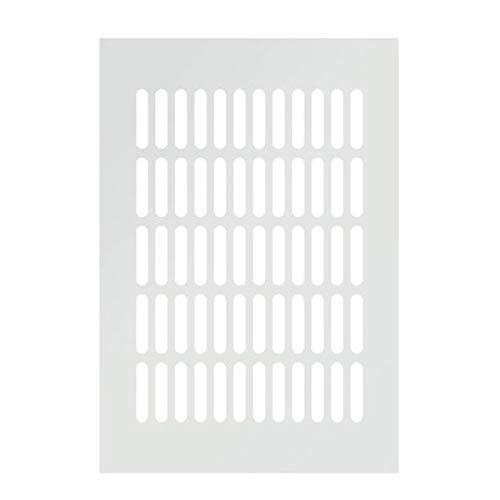 Rejilla De Ventilación, Cubierta De Ventilación Rectangular De Aleación De Aluminio Ancho 200 Mm Armario Armario Zapatero Armario Ventilación Orificio De Escape Cubierta (Incluye 4 Tornillos)