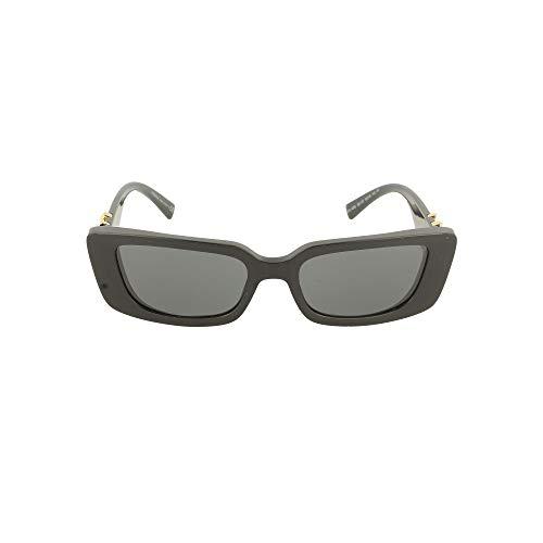 Versace 0VE4382 Occhiali, Black/Grey, 52/18/140 Donna
