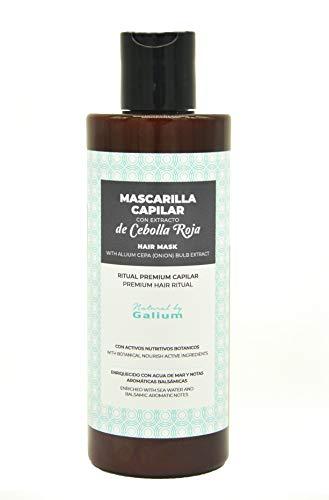 Galium Mascarilla Premium con Extracto de Cebolla | 250ml | Suavidad máxima| Protección de temperatura | Mayor Brillo | Fabricado en España.