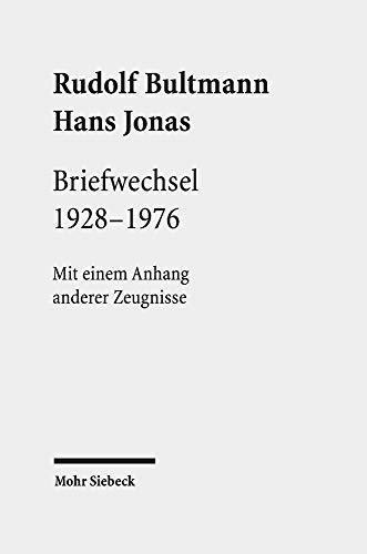 Briefwechsel 1928-1976: Mit einem Anhang anderer Zeugnisse