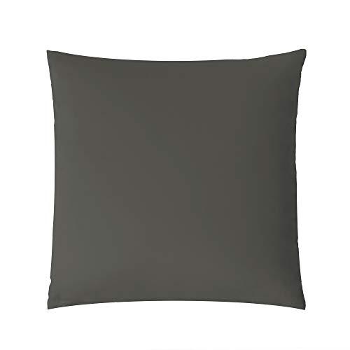 Luxury - Funda de Almohada (80 x 80 cm), Color Gris