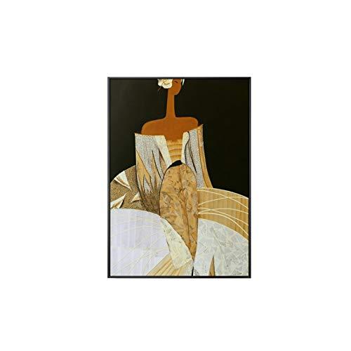 Dessin animé Athènes Déesse Peinture sur toile Affiches et impressions modernes Peintures murales Photos Salon Peinture à l'huile Ameublement sans cadre Peintures décoratives sur toile A269 40x60cm