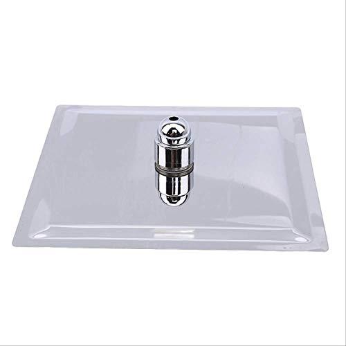 PMWLKJ Cabezal de ducha automático de alta presión para el baño con cabezal de ducha de lluvia Iónico Portátil Ahorro de agua Filtración Cabina de ducha Baño Baño Negro-oro