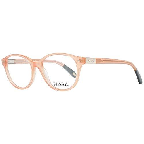Fossil Brillengestelle FOS 6046 Rund Brillengestelle 50, Gold