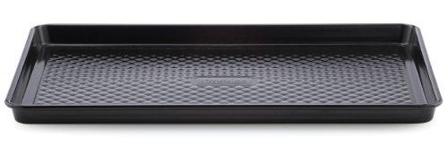 Prestige 57904 Inspire Moule à Gâteau Swiss Roll, Steel, Black, Acier, Noir, 24 x 34 x 3 cm