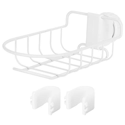 Rejilla de drenaje para grifo de cocina, soporte de almacenamiento para lavavajillas de acero inoxidable, cesta colgante para esponja de jabón, cepillo, fregadero, organizador de fregadero