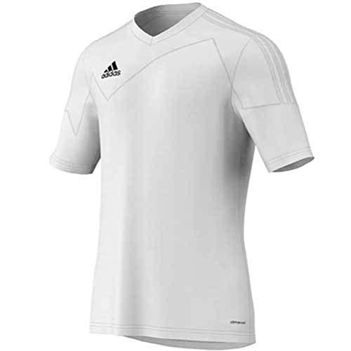 adidas Toque 13Herren Fußball Jersey, Toque 13 Mens Short Sleeve Jersey, weiß/weiß, Small