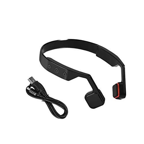 Cerlingwee Auriculares, Auriculares De ConduccióN óSea Bluetooths 4.0 Auriculares Deportivos InaláMbricos Auriculares Manos Libres con MicróFono