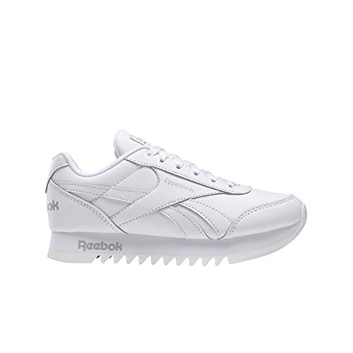 Reebok Royal CLJOG 2 Platform, Zapatillas para Mujer, Multicolor (Blanco/Plamet/None)