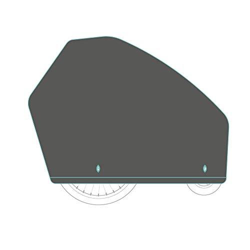 Qeridoo universal Faltgarage für Fahrradanhänger