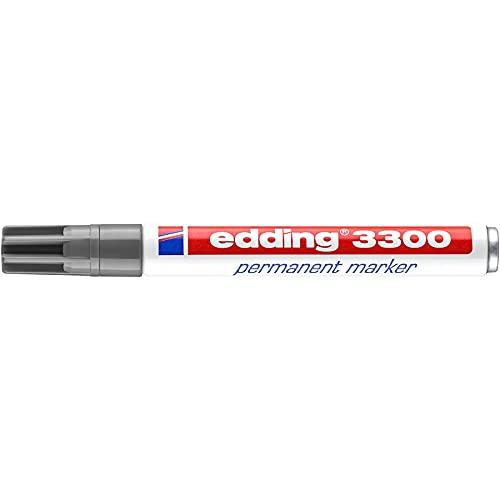 edding Permanentmarker edding 3300, nachfüllbar, 1-5 mm, grau