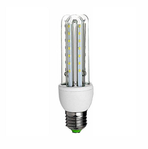 ZWL LED Energiesparlampen, E27 Weißlicht Mais Birne Highlight High Power Haushalt Beleuchtung Spirale Energiesparende Glühbirne Lampen Lichtquelle 5-36 Watt, Bringe Licht in Dein Leben (watt : 7W)