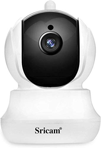 Wireless IP Camera Sricam 1080P HD WiFi Night Vision,Two Way Audio Camera for Pet Baby Monitor, Home Security Camera Motion Detection Indoor Camera (SP020)