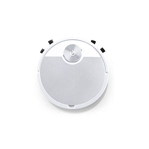 JLCCKJJS Robot de Barrido Inteligente Aspiradora Eliminación de Polvo doméstico Limpiador automático de máquina de Barrido-Plata
