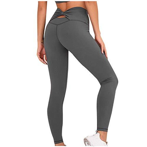 Pantalones de pijama cómodos para mujer, pantalones de harén, pantalones de chándal, holgados, informales, cómodos, estampados a cuadros, pijamas anchos, pantalones largos de yoga gris oscuro M