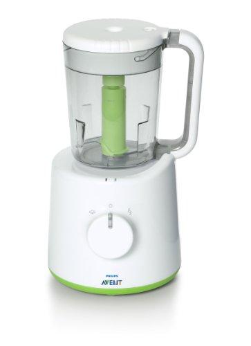 Philips Avent SCF870/23 Robot Maxisaveurs , Cuiseur Vapeur et Mixeur