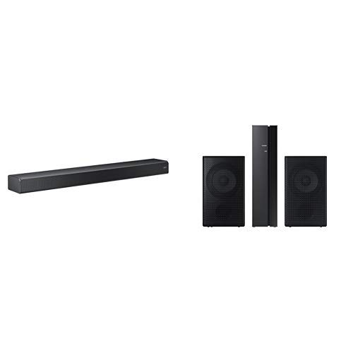 Samsung Soundbar+ - Serial Black - 2 Channel, 5 Series and SWA-9000S Rear Wireless Speaker Kit