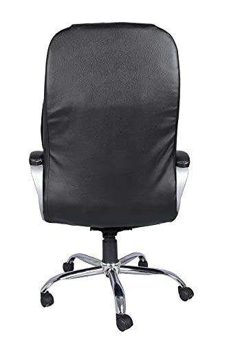 Casa Copenhagen High Back Home Office Chair/Revolving Chair/Desk Chair/Boss Chair-Bull Black