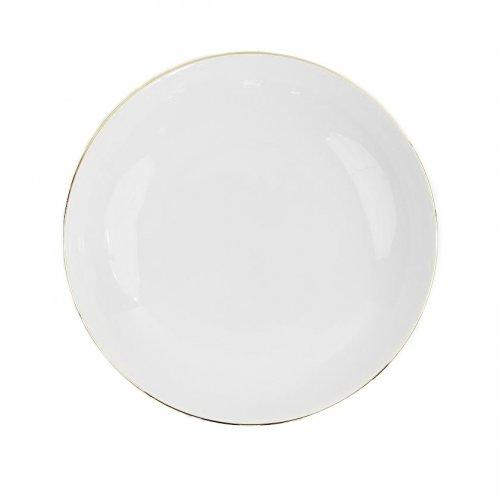 Assiette calotte 22 cm Cytise en porcelaine