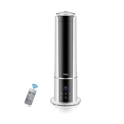 Queen Boutiques Ultrasone Koude Mist Luchtbevochtiger 5.3L Water Tank Grote Capaciteit Top Vullen Intelligente Bevochtiging Mute Baby Slaapkamer Vloer Luchtbevochtiger Woonkamer