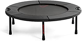 Half-Fold Rebounder Mini-Trampoline: Lifetime All Parts Warranty - Folding Portable Jogging / Fitness Small Tramp Excercise Equipment