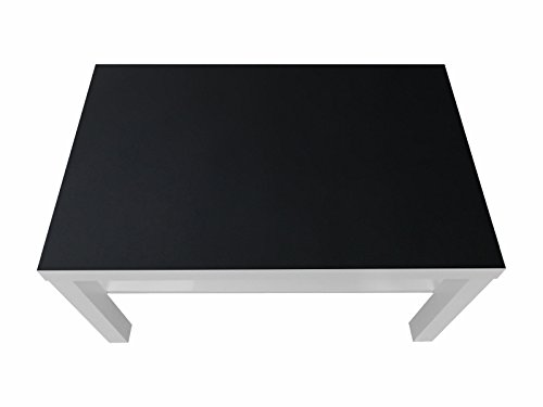 Kreidefolie / Tafelfolie- KF04 - passgenau für den LACK Couchtisch (90 x 55 cm) von IKEA - In wenigen Minuten zum bemalbaren Spieltisch für Kinder! (Möbel nicht inklusive)