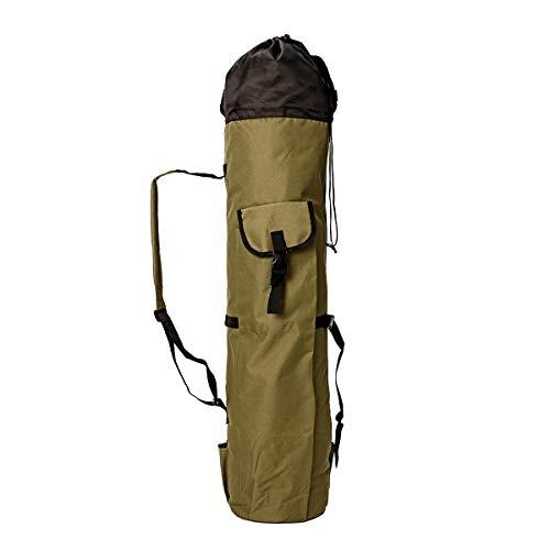 Generic Brands Leurres boîte Crochets Matériel de pêche Cas pêche Outils Sac de Rangement pêche Portable Multifonction Sac en Nylon Rod