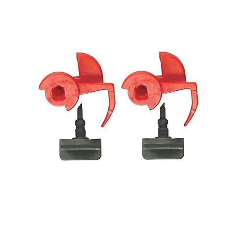 2er Set Verriegelung für Filterrahmen Dunstabzugshauben Siemens 00181272