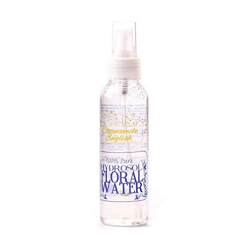 Eau Florale Hydrosol Camomille Anglais avec Capuchon Spray - 125ml