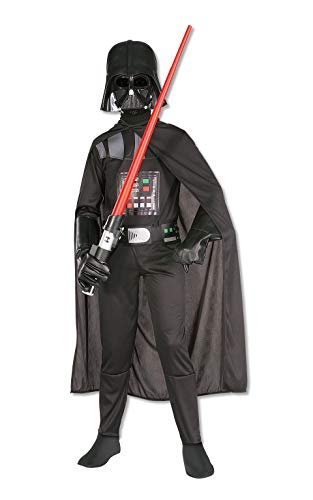 Rubies- Star Wars Darth Vader Disfraz, dibujo animado, Multicolor, 9-10 años (Rubie's...