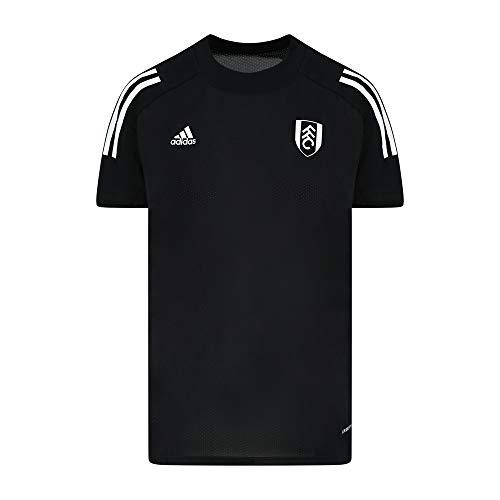 FULHAM FOOTBALL CLUB Trainings-Trikot ED9226, schwarz für Damen