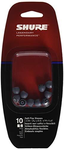 Shure EASFX1-10S Ultraweiche Silikon-Ohrpassstücke für SE Ohrhörer, small, 10 St.,