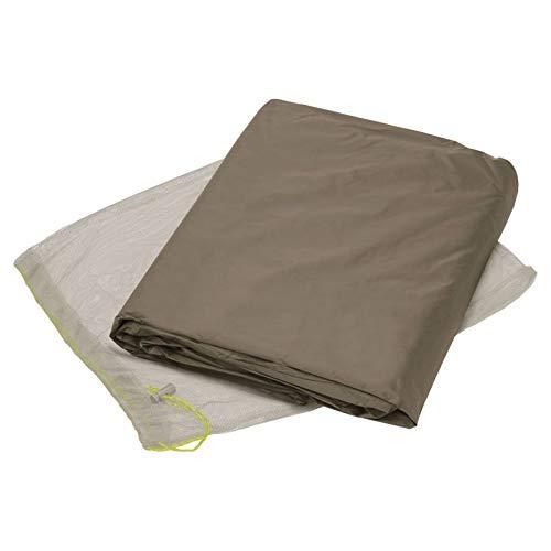 VAUDE Unisex– Adult's Hogan SUL Tent Ground Sheet, Bark, 2P