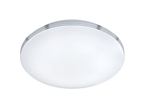 Trio Leuchten LED Deckenleuchte Apart 659412406, Metall chrom, 1x 24 Watt