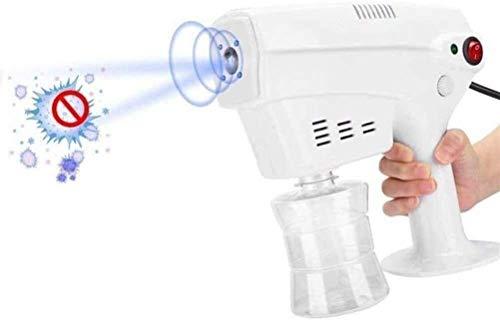 AMDIMOHB Ama de pulverización antivirus Spray Spray Desinfección Botella Al Aire Libre Pistola de vapor Pulsera Portátil Desinfección Azul Nano Steam Steam Pistola Máquina de pulverización, Vapor de c