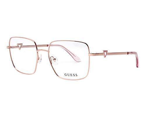 Guess GU-2728 028 - Gafas de sol (metal), color oro rosa