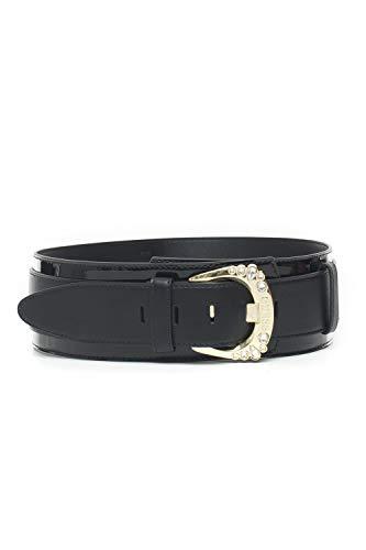 Guess Cinturón con hebilla con logo Not C negro de poliuretano para mujer Negro Medium